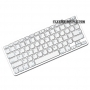 clavier bluetooth mac azerty blanc